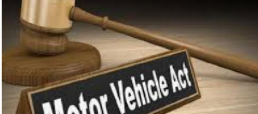 Motor Vehicle Amendment Act
