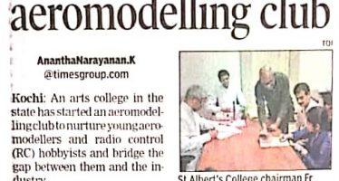 Aeromodelling Club @St.Albert's College, (Autonomous)Ernakulam
